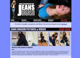 Jeans Orgasm Porn Review